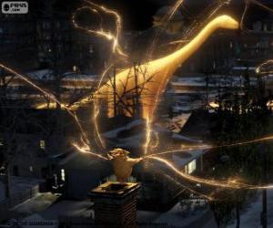 Puzle Sandman, strážcem snů, ztlumit postava z filmu Legendární Parta