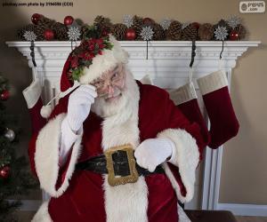 Puzle Santa Claus, krb