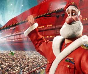 Puzle Santa Claus, Otec Vánoc Arthura