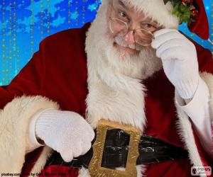 Puzle Santa Claus pozorované