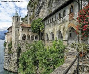 Puzle Santa Katerina del Sasso, Itálie