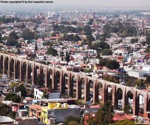Puzle Santiago de Queretaro, Mexiko