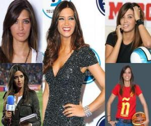 Puzle Sara Carbonero je novinář španělského sportu.