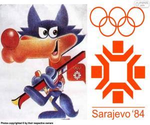Puzle Sarajevo zimních olympijských hrách 1984