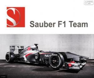 Puzle Sauber C32 - 2013 -