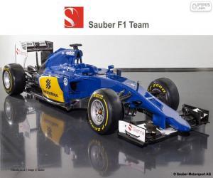 Puzle Sauber F1 Team 2015