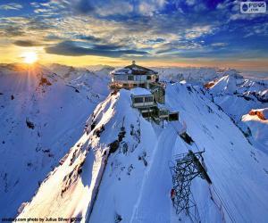 Puzle Schilthorn, Švýcarsko