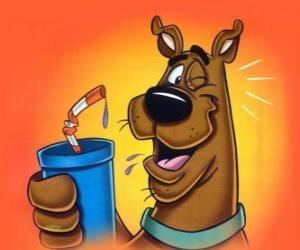 Puzle Scooby Doo drink