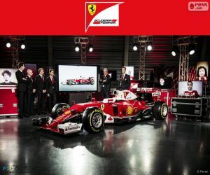 Puzle Scuderia Ferrari 2016