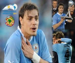 Puzle Sebastian Coates nejlepší zjevení Copa America 2011