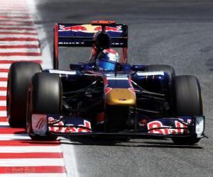 Puzle Sebastien Buemi - Toro Rosso - Barcelona 2011