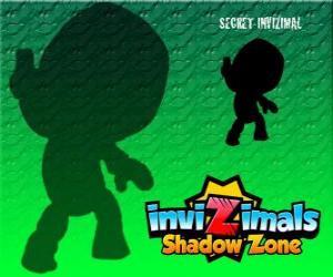 Puzle Secret Invizimal. Invizimals Shadow Zone. Nikdo nic neví o této záhadné a tajné Invizimal