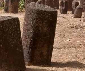 Puzle Senegambian kamennými kruhy, Gambie a Senegal