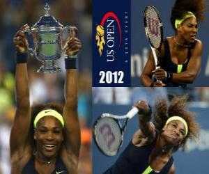 Puzle Serena Williams 2012 US Open Champion