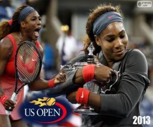 Puzle Serena Williams mistr nás otevřené 2013