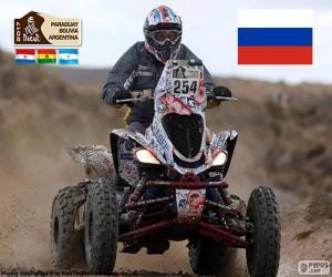 Puzle Sergej Karyakin, Dakar 2017