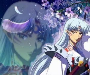 Puzle Sesshomaru, Inuyasha bratr. Celkem bez skrupulí démon, který nenávidí svého bratra, lidé a slabá
