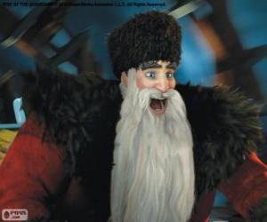 Puzle Sever, Santa Claus