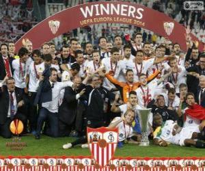 Puzle Sevilla FC, mistr UEFA Evropy liga 2013-2014