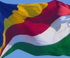 Puzle Seychelská vlajka