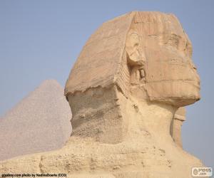 Puzle Sfinga v Gíze