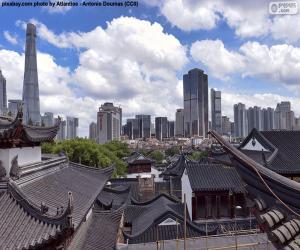 Puzle Shanghai, Čína