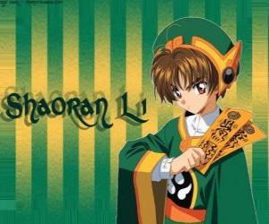 Puzle Shaoran Li, potomek kouzelník tvůrce karet Clow