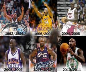 Puzle Shaquille O'Neal považovány za nejvíce dominantním hráčem v historii NBA. Dne 01.6.2011 oznámil jeho důchod