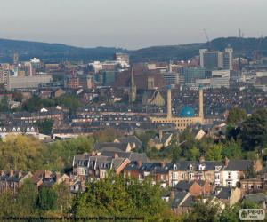Puzle Sheffield, Velká Británie