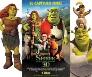 Puzle Shrek Forever Po
