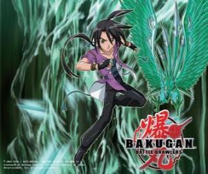 Puzle Shun a jeho Bakugan Ventus