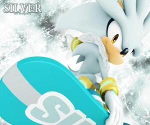 Puzle Silver the Hedgehog, Ježek, že pochází z budoucnosti