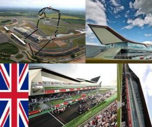 Puzle Silverstone Circuit -  Velká -