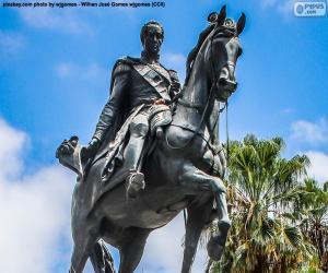 Puzle Simón Bolívar