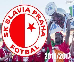 Puzle SK Slavia Praha, vítěz 2016-2017
