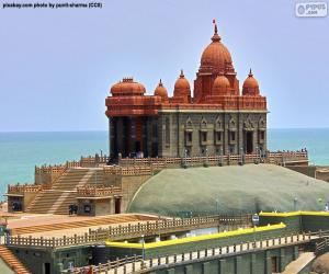 Puzle Skalní památník Vivekananda, Indie