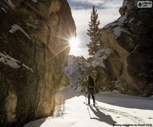 Puzle Skialpinismus