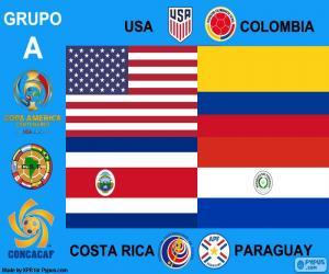 Puzle Skupina A, Copa América Centenario