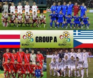 Puzle Skupina A - Euro 2012 -