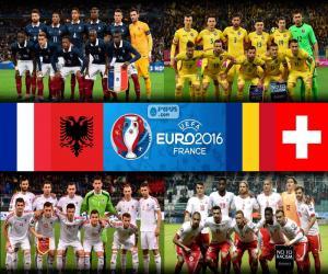 Puzle Skupina A, Euro 2016