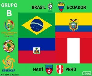 Puzle Skupina B, Copa América Centenario