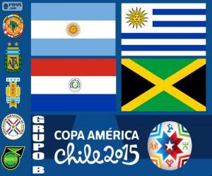 Puzle Skupina B, Copa America 2015
