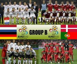 Puzle Skupina B - Euro 2012-