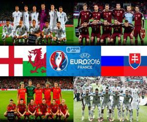 Puzle Skupina B, Euro 2016