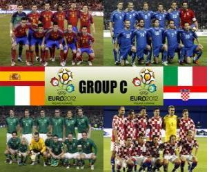 Puzle Skupina C - Euro 2012-