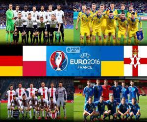 Puzle Skupina C, Euro 2016