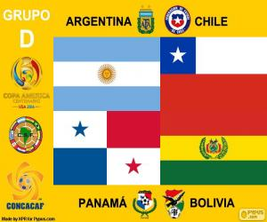 Puzle Skupina D, Copa América Centenario