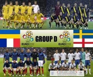 Puzle Skupina D - Euro 2012-