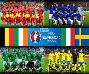 Puzle Skupina E, Euro 2016