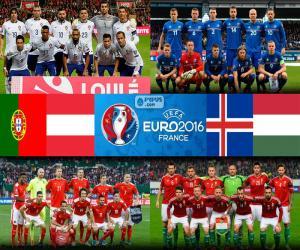 Puzle Skupina F, Euro 2016